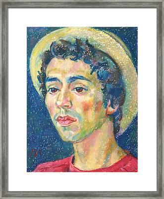 Gabriel Alban-zapata Framed Print