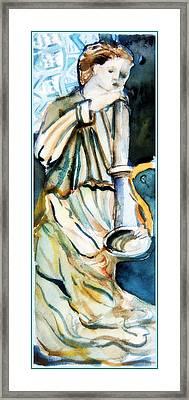 Gabriel Framed Print by Mindy Newman