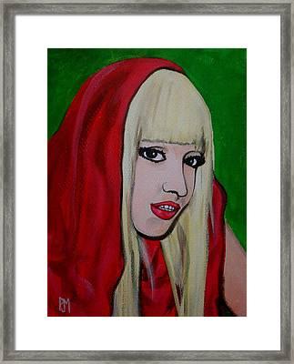 Gaga Hood Framed Print by Pete Maier