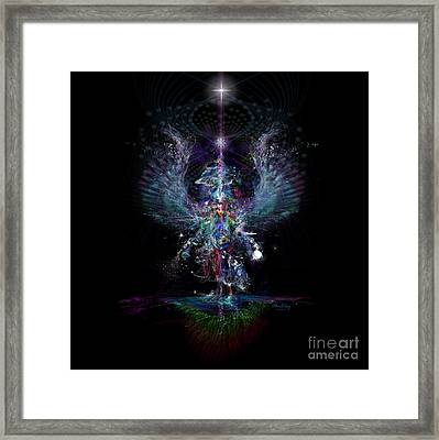 Gaia Birthing New Earth Framed Print
