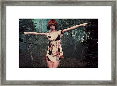 Gaia Unearthed Framed Print