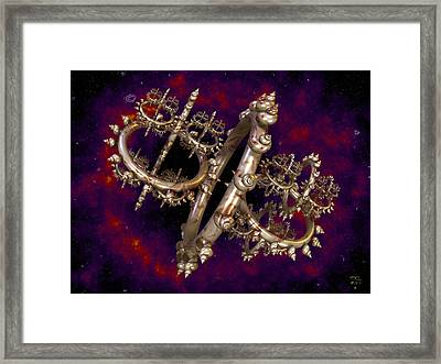 Galactic Center Framed Print by Manny Lorenzo