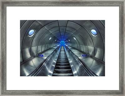 Galactic Quest Framed Print