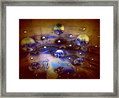 Galactic Traffic Jam Framed Print by Randall Weidner