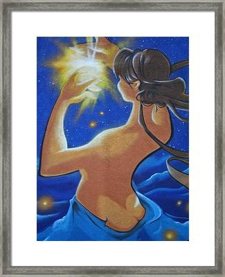 Galaxie ... Framed Print
