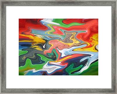 Galaxy #1  Framed Print by Clifford Peacock
