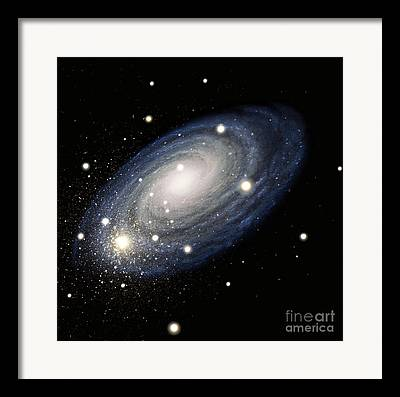 Stellar Drawings Framed Prints