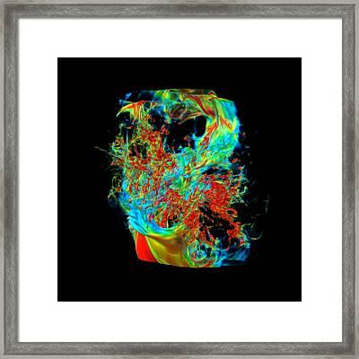 Galaxy Formation Framed Print