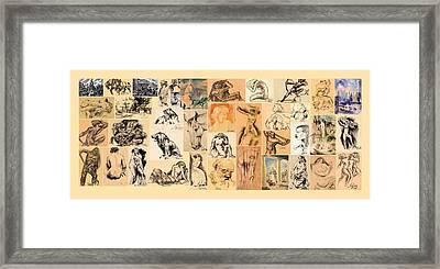 Galdi Works Framed Print by Odon Czintos