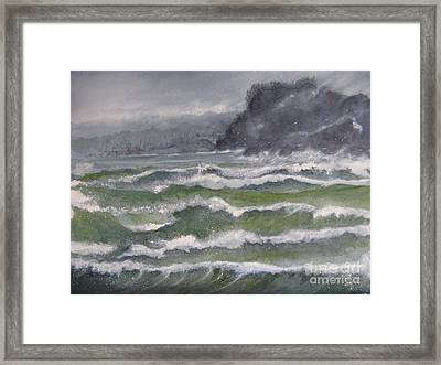 Gale Force Framed Print