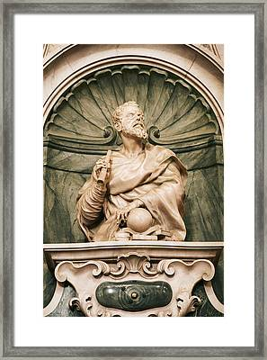 Galileo's Tomb, Florence, Italy Framed Print by Sheila Terry
