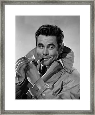 Gallant Journey, Glenn Ford, 1946 Framed Print by Everett