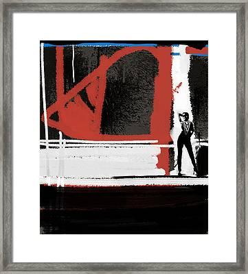 Gallery Framed Print by Naxart Studio