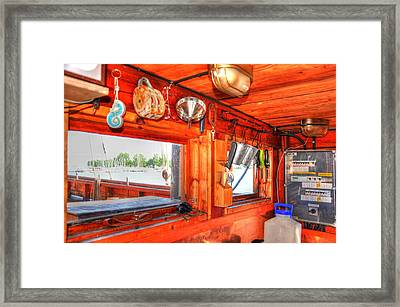 Galley Framed Print by Barry R Jones Jr