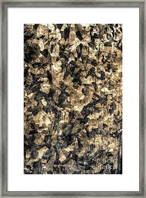 Galvanized Framed Print by Michael Garyet
