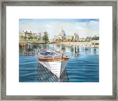 Galway Cathedral View  Framed Print by Vanda Luddy