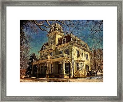 Gambrill Mansion Framed Print by Lianne Schneider