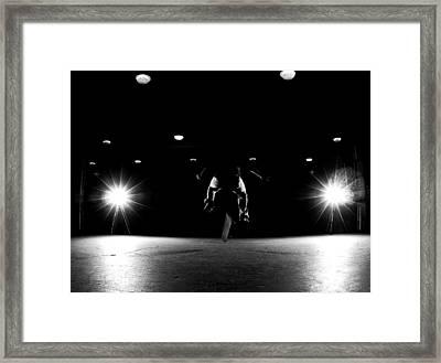 Game Of Skate Framed Print