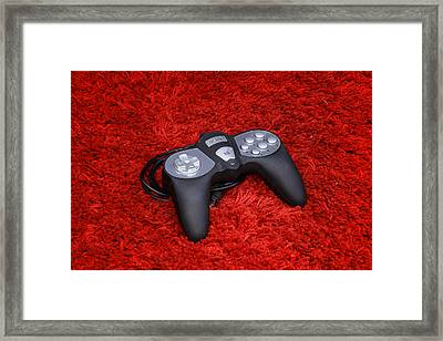 Game On Framed Print by Rimantas Vaiciulis