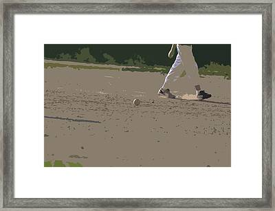 Game Over Framed Print by Peter  McIntosh