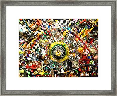 Games People Play Framed Print by Randall Weidner