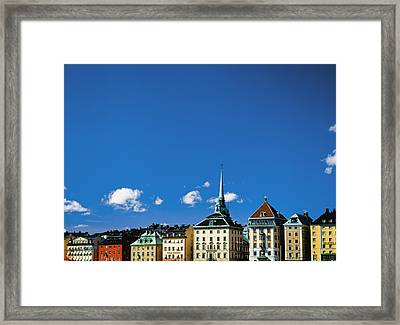 Gamia Stan Main Square Framed Print by Axiom Photographic