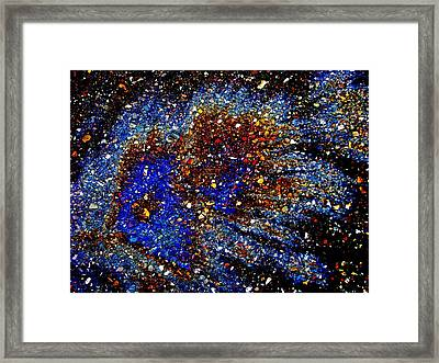 Gamma Ray Burst Framed Print by Samuel Sheats