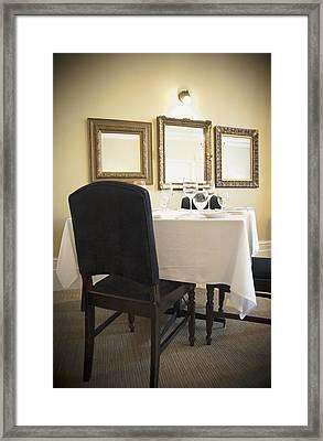 Gananoque Ontario Canada. A Small Hotel Framed Print by Marlene Ford