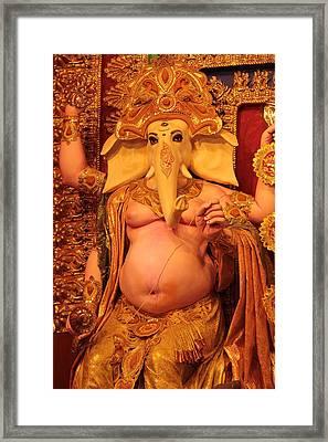 Ganesh Goddess  Framed Print by Rajan Advani