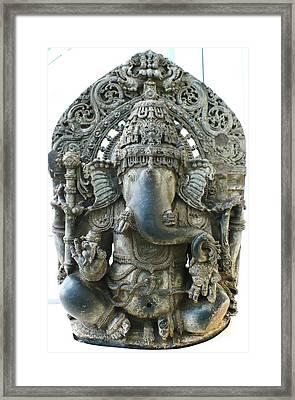 Ganesha Framed Print by James Mancini Heath