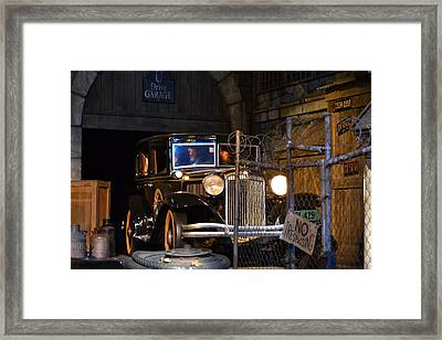 Gangsters Framed Print