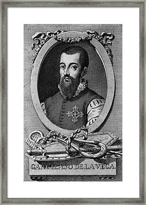 Garcilaso De La Vega 1503-1536 Spanish Framed Print by Everett