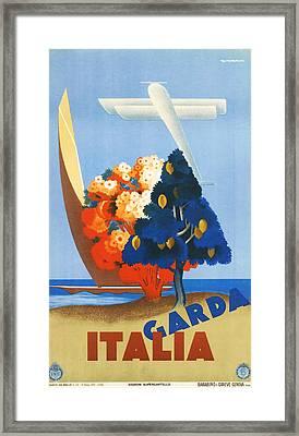 Garda Italy Framed Print by Georgia Fowler