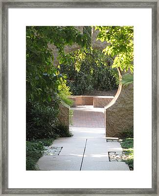Garden Art Framed Print