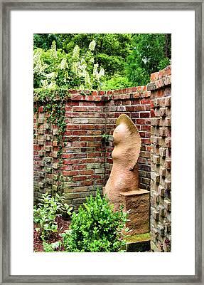 Garden Art Framed Print by Kristin Elmquist