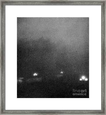Garden City, Dust Storm Sequence, 2 Framed Print