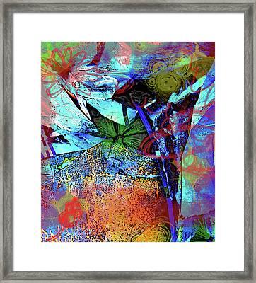 Garden Dance Framed Print by Jerry Cordeiro