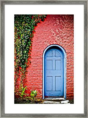 Garden House Framed Print