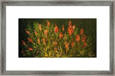 Garden Framed Print by Mohsen Mousavi