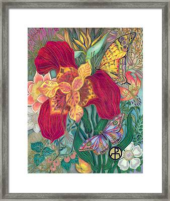 Garden Of Eden - Flower Framed Print