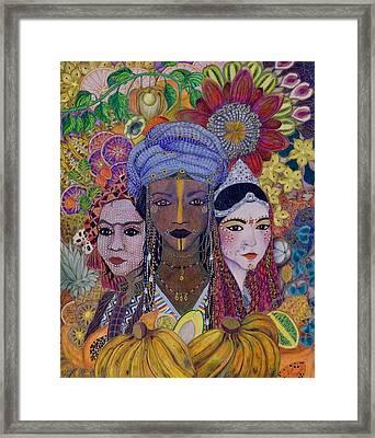 Garden Of Eden - No More Hunger Framed Print