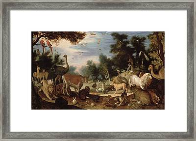 Garden Of Eden Framed Print by Jacob Bouttats