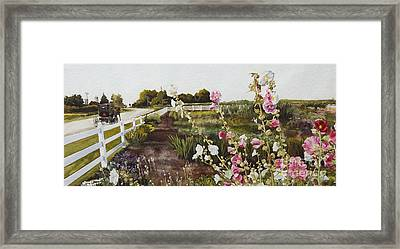 Garden Of Edith Framed Print