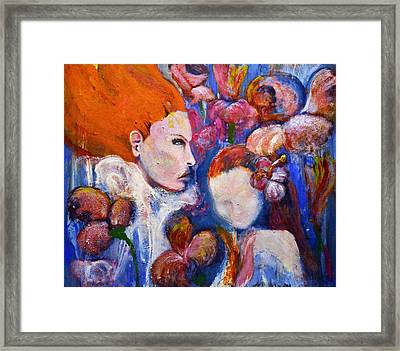 Garden Of Good And Evil Framed Print by Nichole Montanez