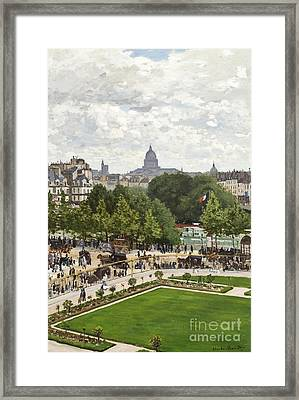 Garden Of The Princess Framed Print