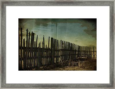 Garden Of Thirst  Framed Print by Empty Wall