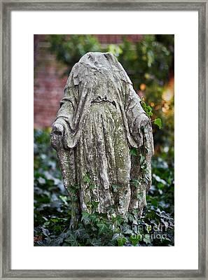 Garden Torso Framed Print by Susan Isakson