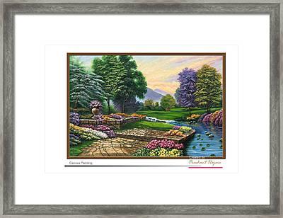 Garden View 2 Framed Print by Prashant Hajare