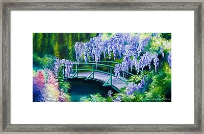Gardens Of Givernia II Framed Print by James Christopher Hill