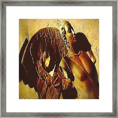 Gardian Angel Framed Print by Yvon van der Wijk